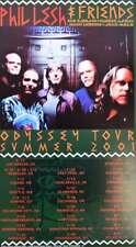Phil Lesh & Friends Concert Poster Summer Tour 2001