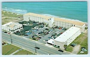 MYRTLE BEACH, South Carolina SC ~ Aerial SWAMP FOX MOTOR INN Roadside   Postcard