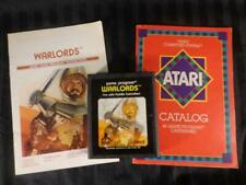 Atari 2600 WARLORDS CX2610 1981 Game W/ Owners Manual & Game Catalog AWESOME !!