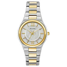 Bulova 98L238 Two Tone Gold Stainless Steel Ladies Watch