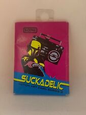 Suckadelic Action Art Card Series 3 Cards in PACKAGE