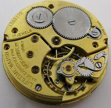 Pocket Watch Movement Zenith Angus & Coote Sydney 17 jewels 42 mm 16s HC