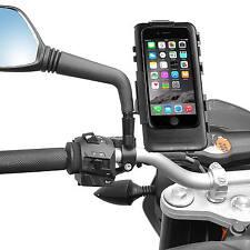 Soporte de motocicleta para 8mm/10mm espejo iPhone 7 plus impermeable estuche duro