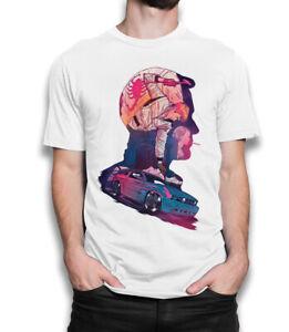 Drive Movie Original Art T-Shirt, Ryan Gosling Tee