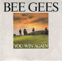"""Bee Gees 7"""" You Win Again - France"""