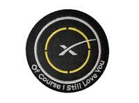 Ocily patch , SpaceX logo patch , Elon Musk, Tesla, Falcon Heavy