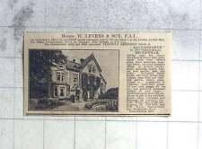 1927 Freehold Residence Ravensworth Southend Road Beckenham For Sale