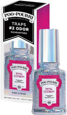 Before-You-Go Toilet Spray Glitter Collection by Poo Pourri, 2 oz Pink Citron