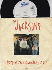 """the JACKSONS~Nothin (that compares 2 u)~ 1989 7""""  (654808 7) VG"""