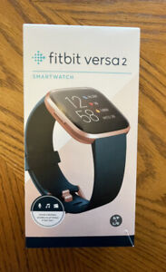 Fitbit Versa 2 Activity Tracker - Bordeaux/Copper Rose - USED