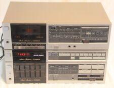 Vintage Fisher CA-77 Int. Amp, FM-77 Tuner & CR-77 Cassette - See Pics & Desc