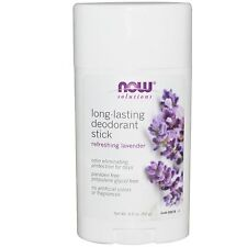 Deodorant Stick - Long Lasting Lavender - 62g by Now Solutions