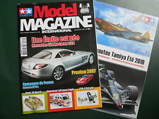 TAMIYA MODEL MAGAZINE N° 85  JANVIER / FEVRIER 2007 70 PAGES + NOUVEAUTES 2010
