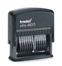 tampon numéroteur 13 bandes 47 X 3,8 mm  ref trodat 48313