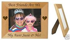 Personalized 5 x 7 Aunt Picture Frame Custom Aunt Photo Frame