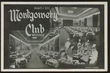 WW2 NAAFI/EFI Montgomery Club Brussels m/v RP PPC