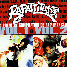 RAPATTITUDE Volume 1 & 2 La Premiere Compilation de Rap Francais 2-DISC CD IAM+