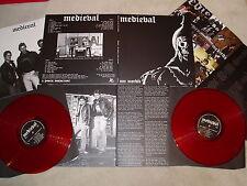 MEDIEVAL - One Morbid DLP (NEW*LIM.ED. 250*RED VINYL*RAVEN*BLITZKRIEG*VENOM)