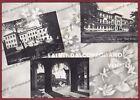 TREVISO CONEGLIANO 22 SALUTI da... VEDUTINE Cartolina FOTOGR. viagg 1958 DIFETTI