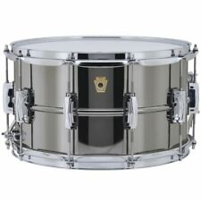 """Ludwig LB408 Black Beauty Supraphonic Snare Drum with Imperial Lugs, 8"""" x 14"""""""