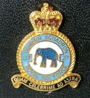 No 27 Squadron RAF Royal Air Force Enamel Badge  Chinooks