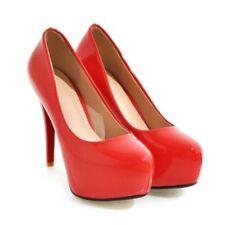 Scarpe Décolleté Donna numero 36 tacco 12 - colore rosso - nuove