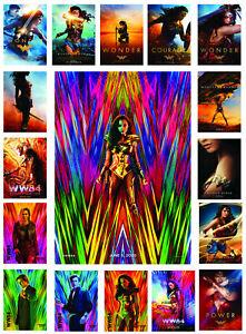 Wonder Woman WW84 2020 DC Universe Movie Poster Film Art Print Home Decor Gift