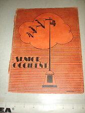1936 SENIOR OCCIDENT West High School Rochester NY Yearbook PB ORIGINAL