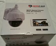Dericam WiFi Wireless Outdoor IP Security Camera, PTZ Camera, 4x Optical Zoom,