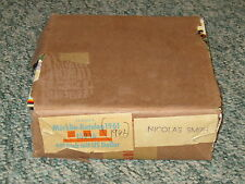 1 CASE OF 25 NEW 1961/62 MARKLIN CATALOGS IN ENGLISH