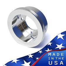 Ford Crank Pulley 302 351W 351C V-Belt SBF Billet Aluminum Underdrive Crankshaft