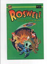 Roswell Little Green Man #1 Bongo Comics (1996) Bill Morrison The Simpsons