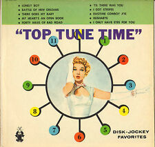 "DIVERS ""TOP TUNE TIME"" ROCK N' ROLL DOO WOP 50'S LP 208"