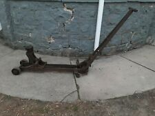 Antiquevintage Walker Roll A Car No740 Floor Jack Cap 5000 Lbs Made In Usa