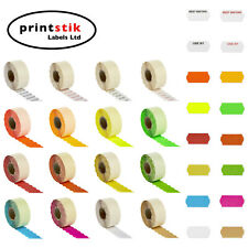 More details for price gun labels 26x12mm ct4 various colours best before lynx puma motex