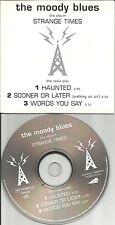Justin Hayward THE MOODY BLUES 3 TRX Sampler PROMO DJ CD single 2000 THR30CD USA