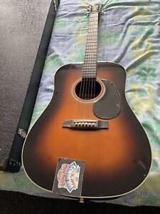 recording king acoustic guitar RD 16 SN