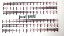 Brown N gauge 3 bar gauge scale fence