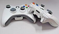 2 X GENUINE MICROSOFT Xbox 360 Wireless Controller