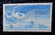 Ireland 1948 - 49 - 3 p Blue Airmail Stamp - MNH - SG 141
