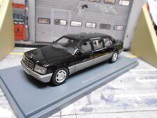 Mercedes benz clase e refrescos elástico e250 v124 largo 1994 negro Black neo 1:43
