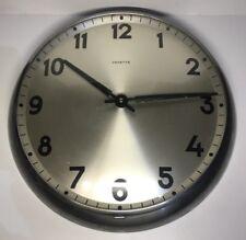 Ancienne Horloge Murale Vintage Marque VEDETTE D 34 Cm Voir Photos