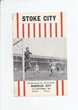 Stoke City League Cup Home Teams S-Z Football Programmes