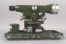 Antique 1931 WWII Japanese Surveyor's Transit Theodolite Level in Original Can