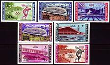 Umm al Qiwain 1964 ** Mi.19/25 B Olympische Spiele Olympic Games Stadion