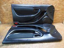 1993 1999 JDM TOYOTA CELICA ST202 ST205 RHD BLK LEATHER 2DOOR DOOR PANEL SET OEM