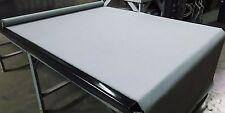 "Cordura Light Gray 1000D Water Repellent Coated Nylon Outdoor Fabric 60""W Dwr"