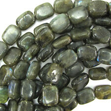"15mm labradorite rectangle beads 15"" strand"