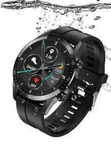 L13 T03 Smart Watch ECG Bluetooth Temperature IP68 Sport Wristwatch Heart Rate