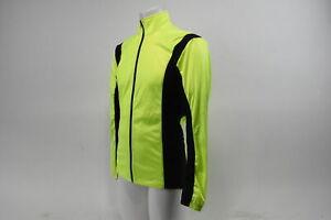 Men's Large Wind Jacket Fluorescent Green